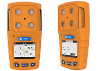 Portable multi gas detector for CO H2S O2, CH4, 4 gas detector with datalogger